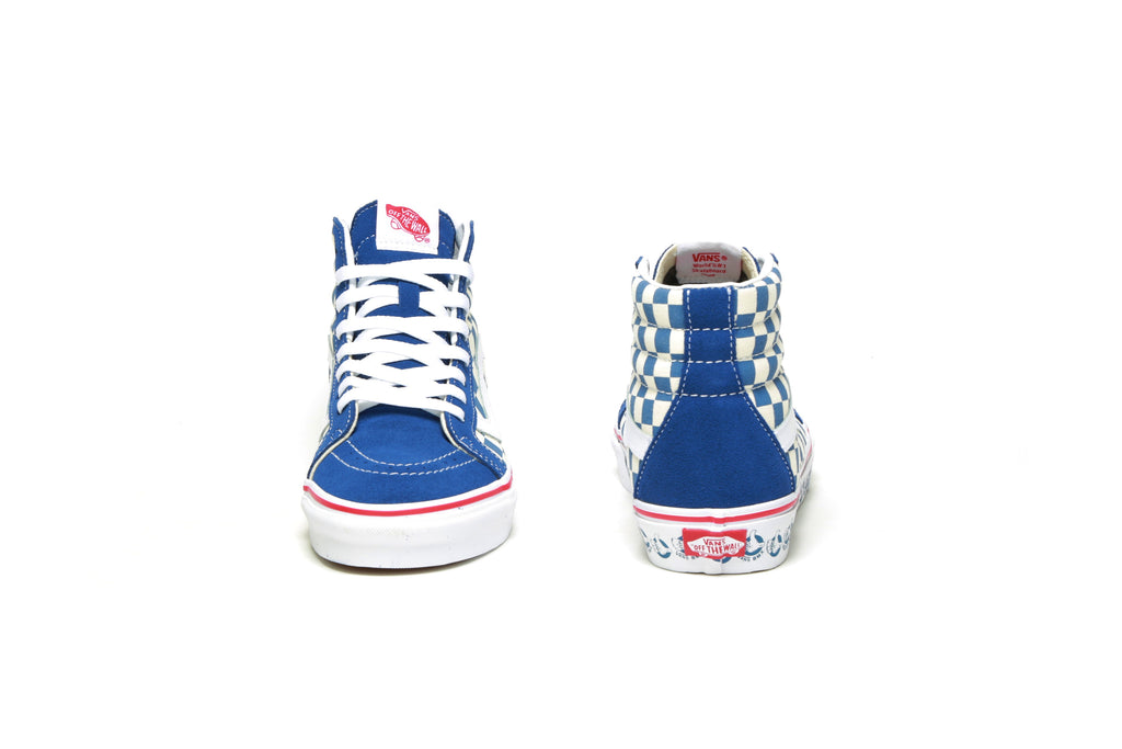 Sk8-Hi Reissue - (VANS BMX) True Navy/White
