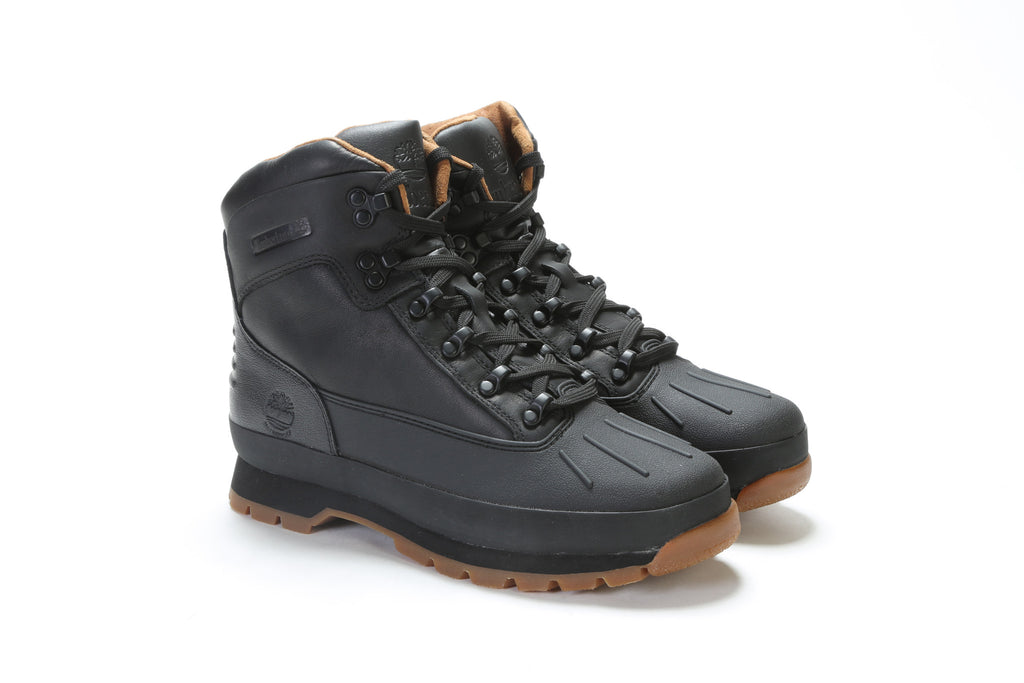 Euro Hiker Shell Toe Boots (M) - Black