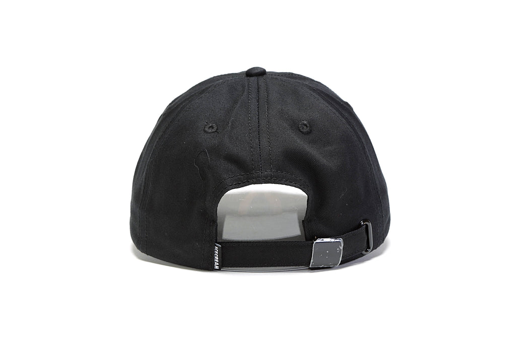 Blue Moon Strapback Hat - Black