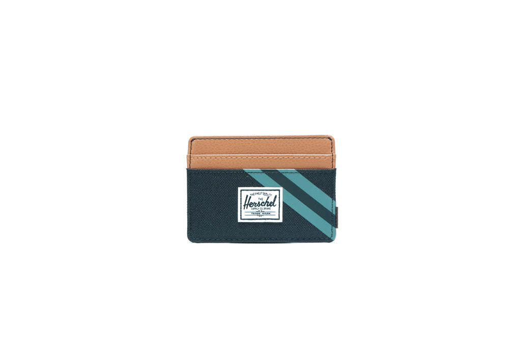 Charlie Wallet - Black/Leather