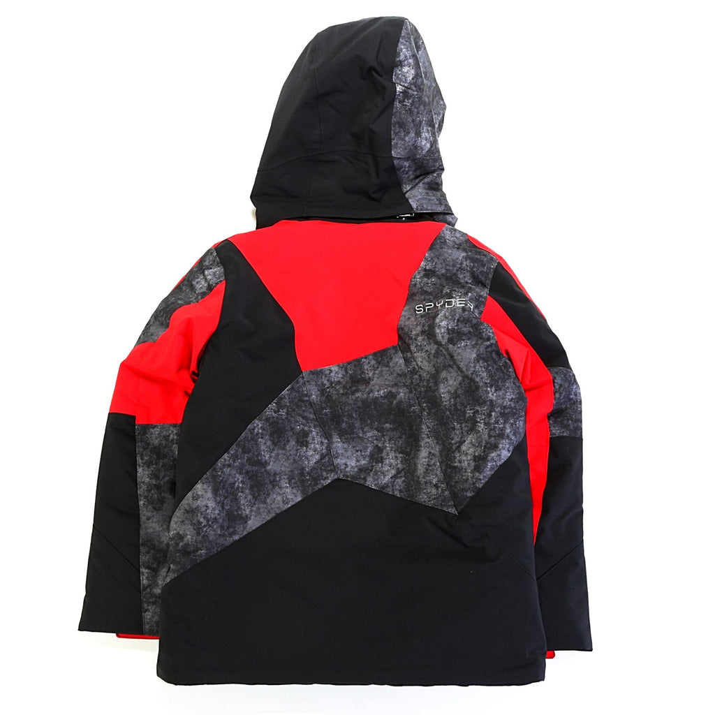 Boy's Leader Jacket - Black/Red