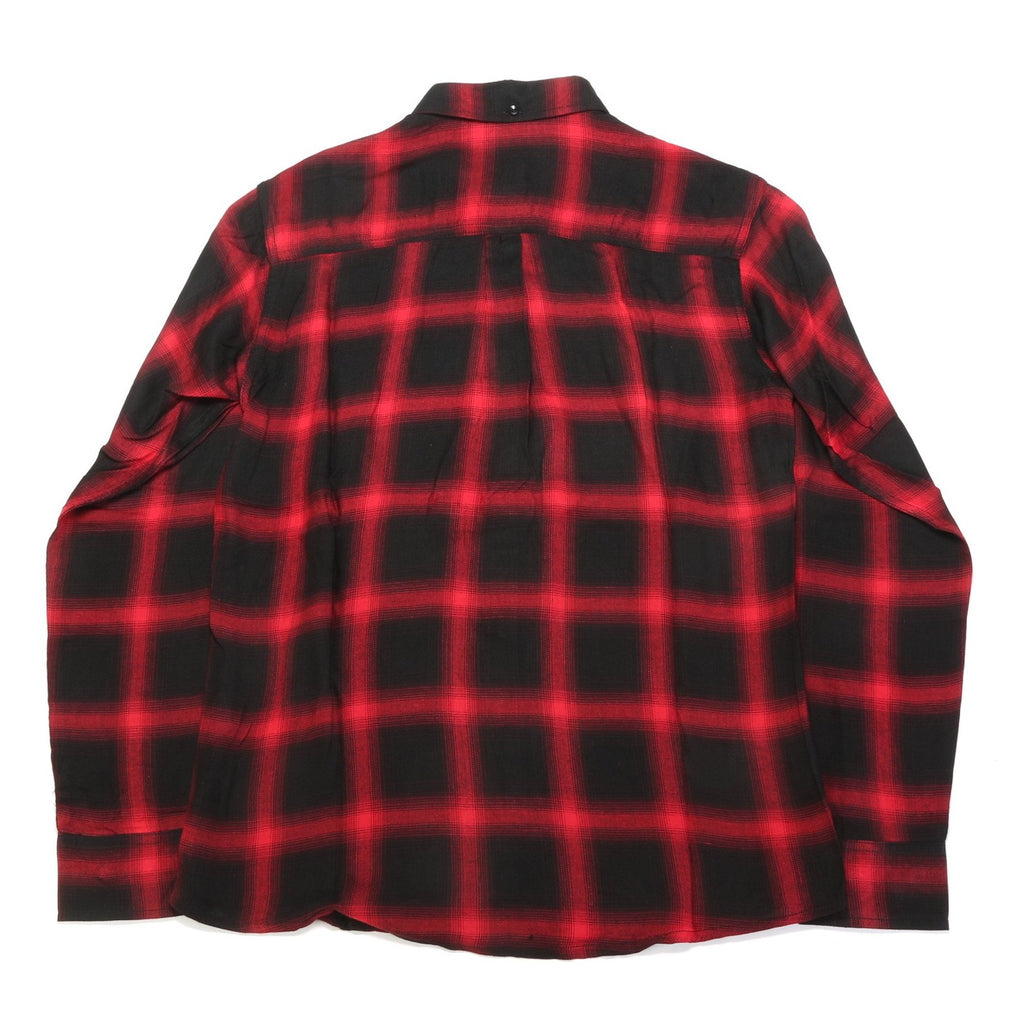 Antoine L/S Button Up - Red