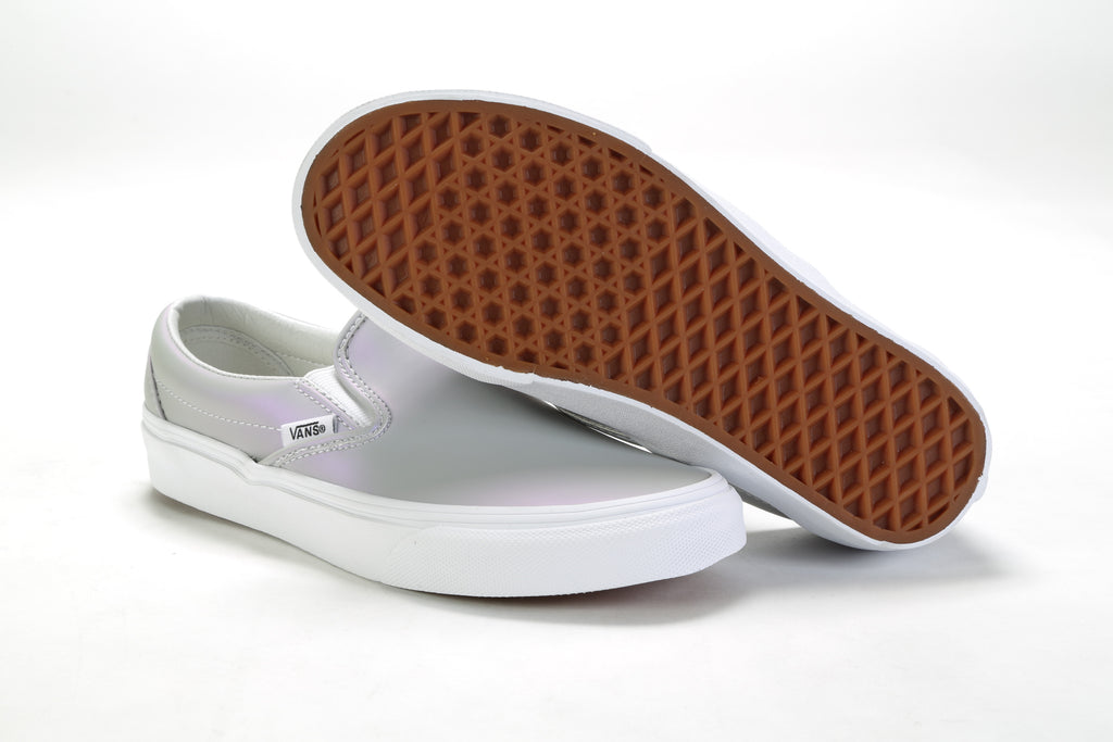 Classic Slip-On - (Muted Metallic) Gray/Violet