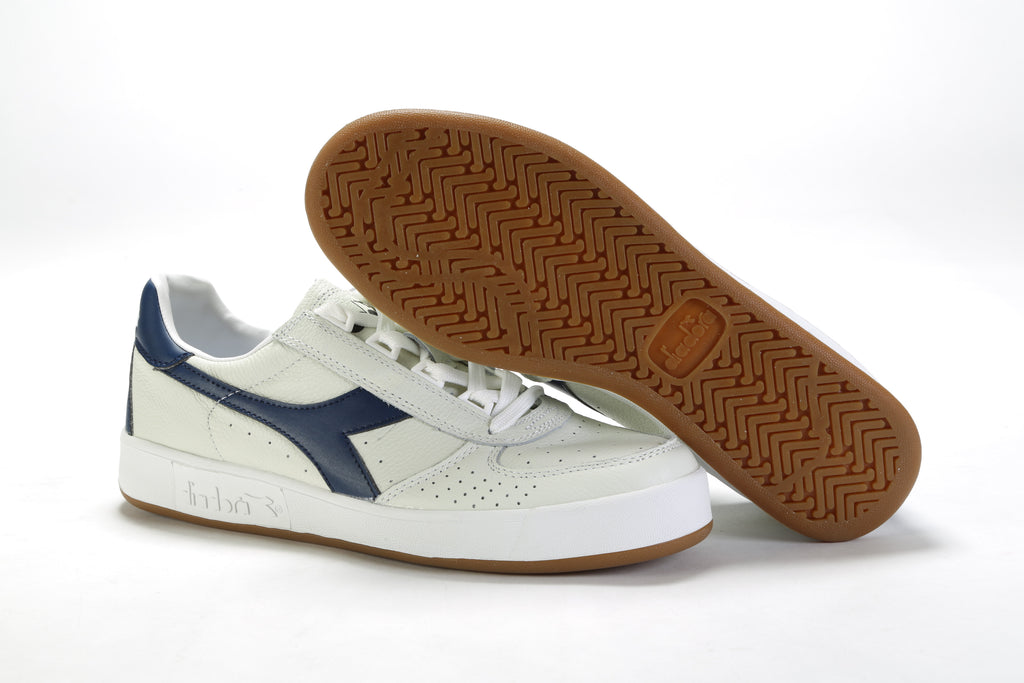 B.Elite - White/Saltire Navy