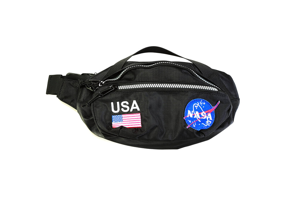 NASA Meatball Hip Pack - Black