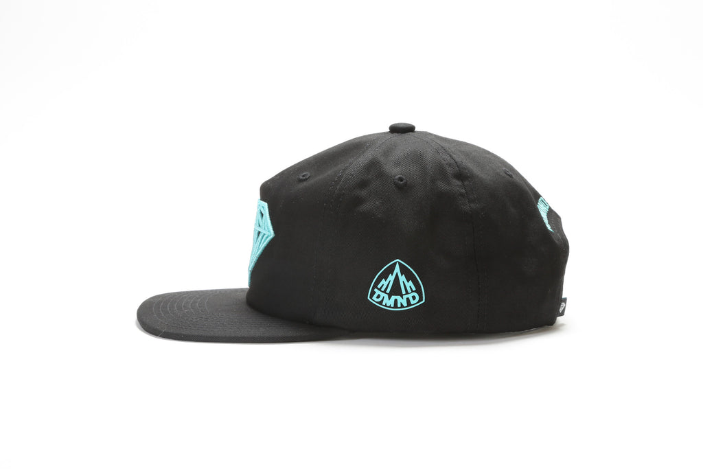 Brilliant Snapback - Black