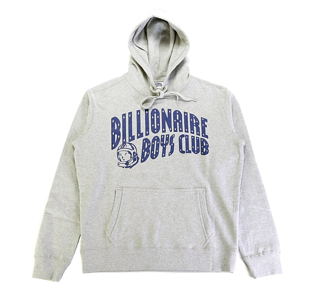 BB Arch Pullover Hoodie - Heather Grey