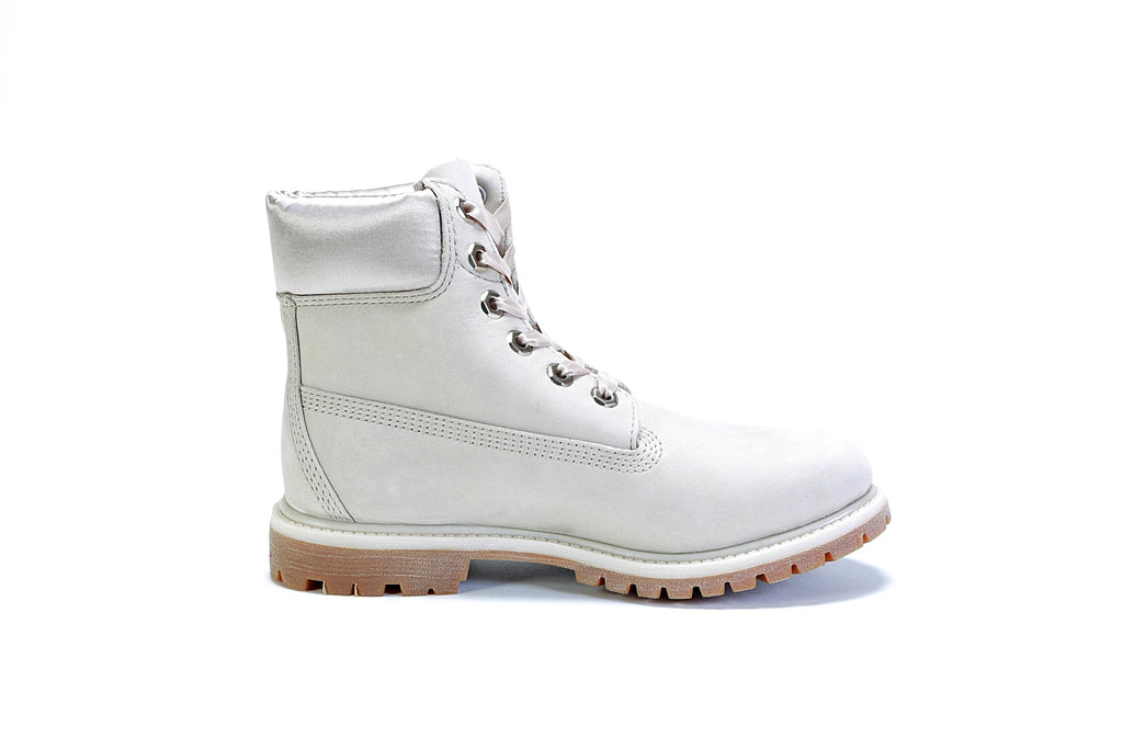 "Women's 6"" Premium Boot (M) - (Satin Collar) Pure Cashmere"