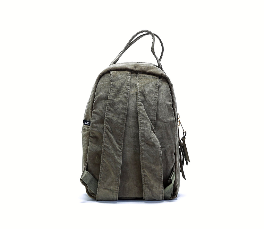 Nova Mini Backpack - (Corduroy) Ivy Green