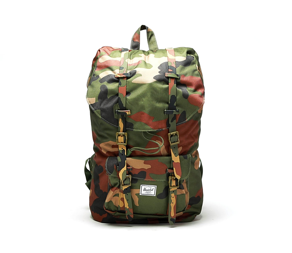 Little America Backpack - Woodland Camo – PRIME a2afcafbe2681