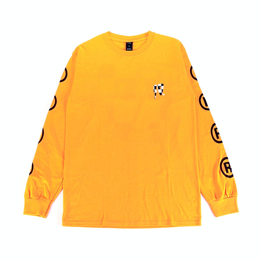 10 Strikes LS Tee - Orange