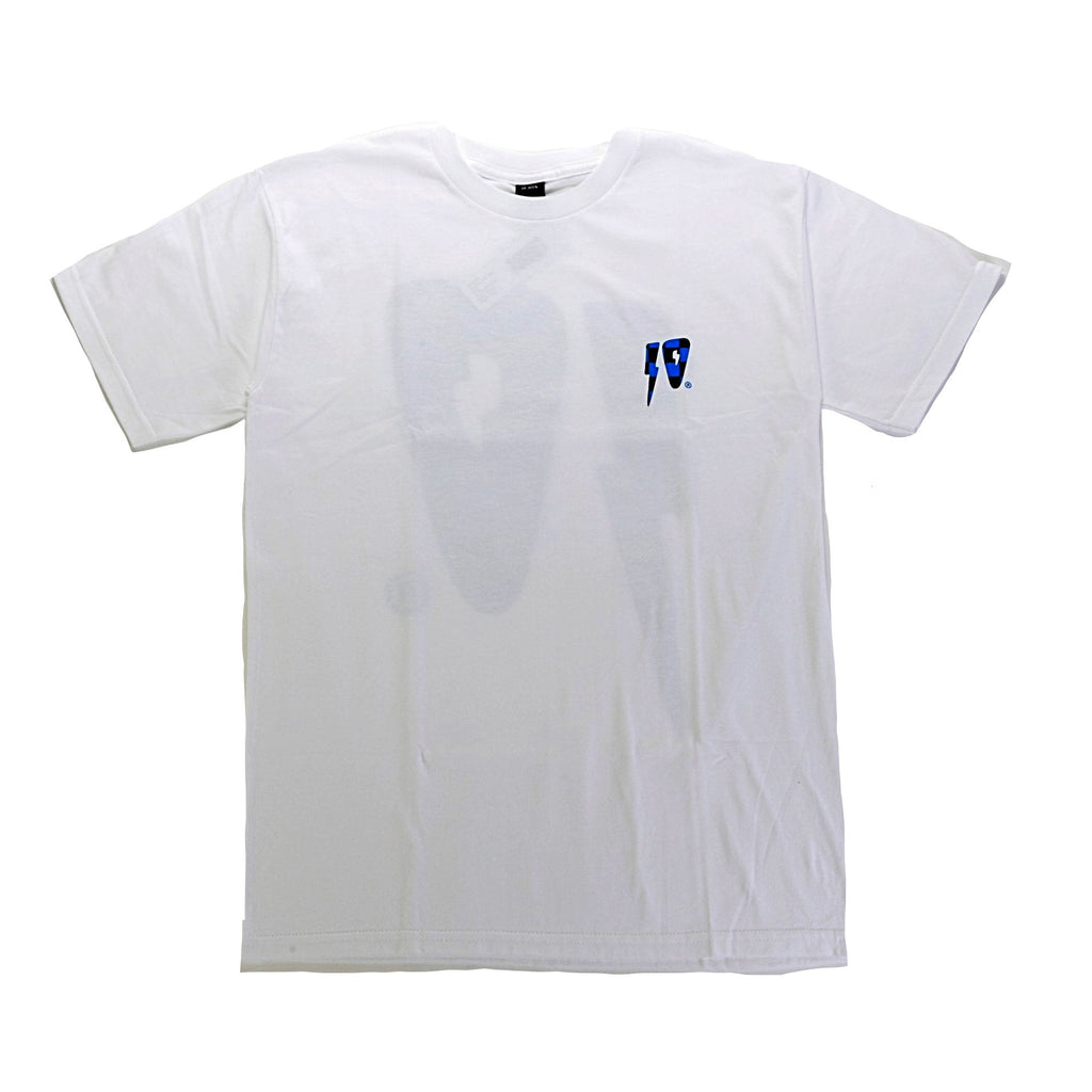 10 Strikes SS Tee - White