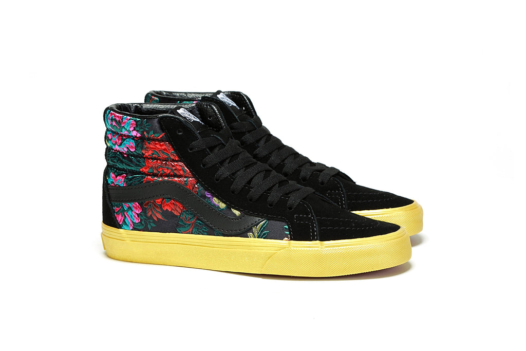4b42be17b3f7 Sk8-Hi Reissue - (Festival Satin) Black Gold – PRIME
