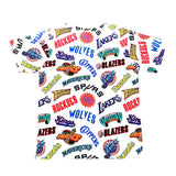All Over West Tee - (NBA) White