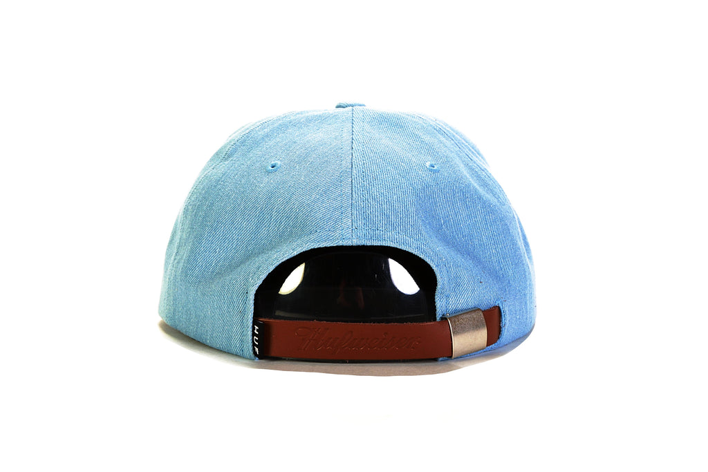 Budweiser Label 6 Panel Strapback - Indigo