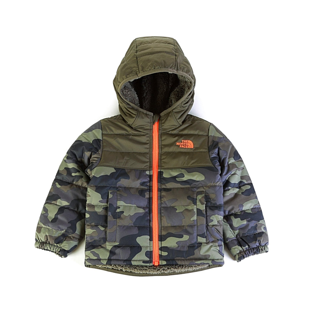 ae71beb33 ... Toddler Boys' Reversible Mount Chimborazo Hoodie - New Taupe Green  Camouflage Print ...