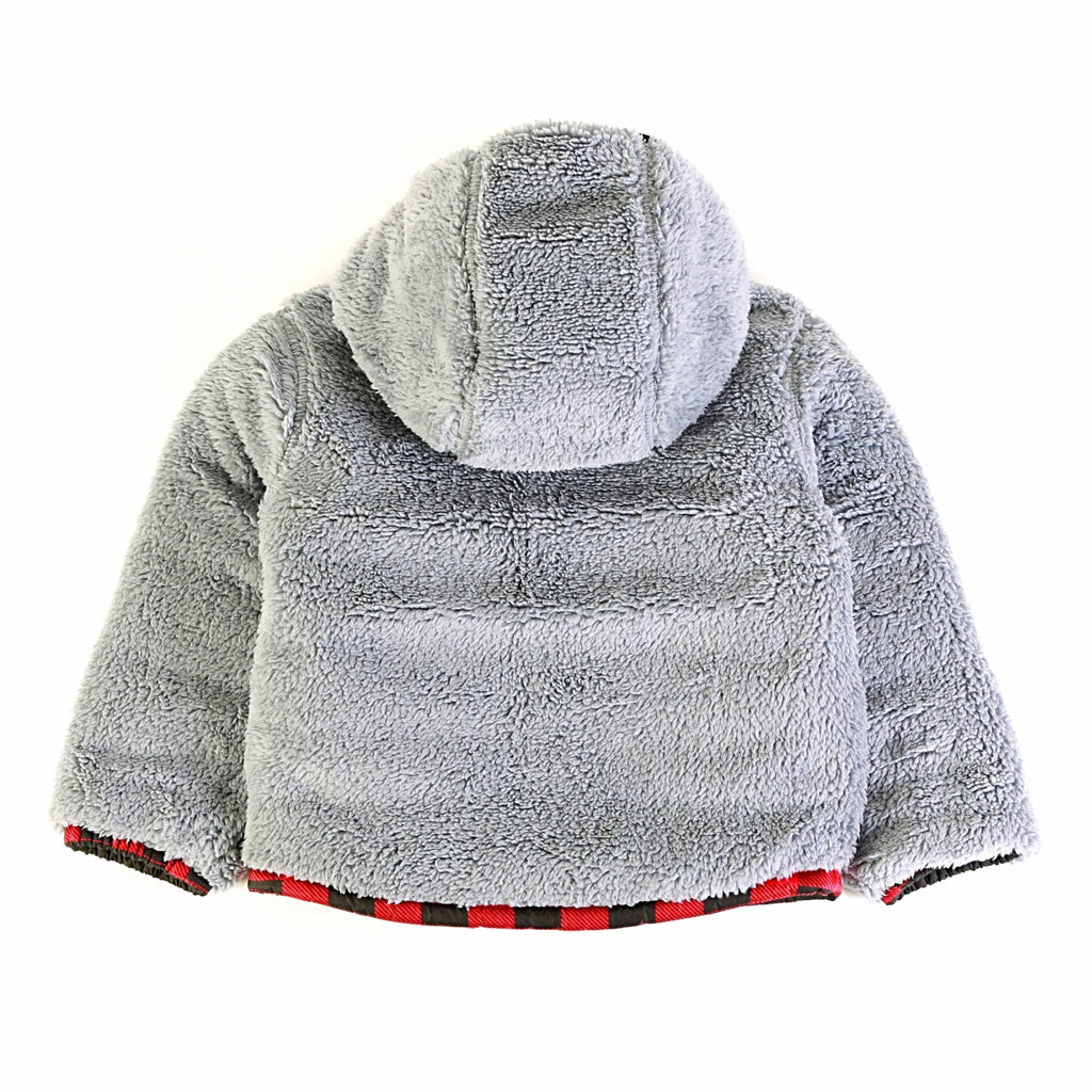 96b7992a0 Toddler Boys' Reversible Mount Chimborazo Hoodie - Red Buffalo Check Print  ...