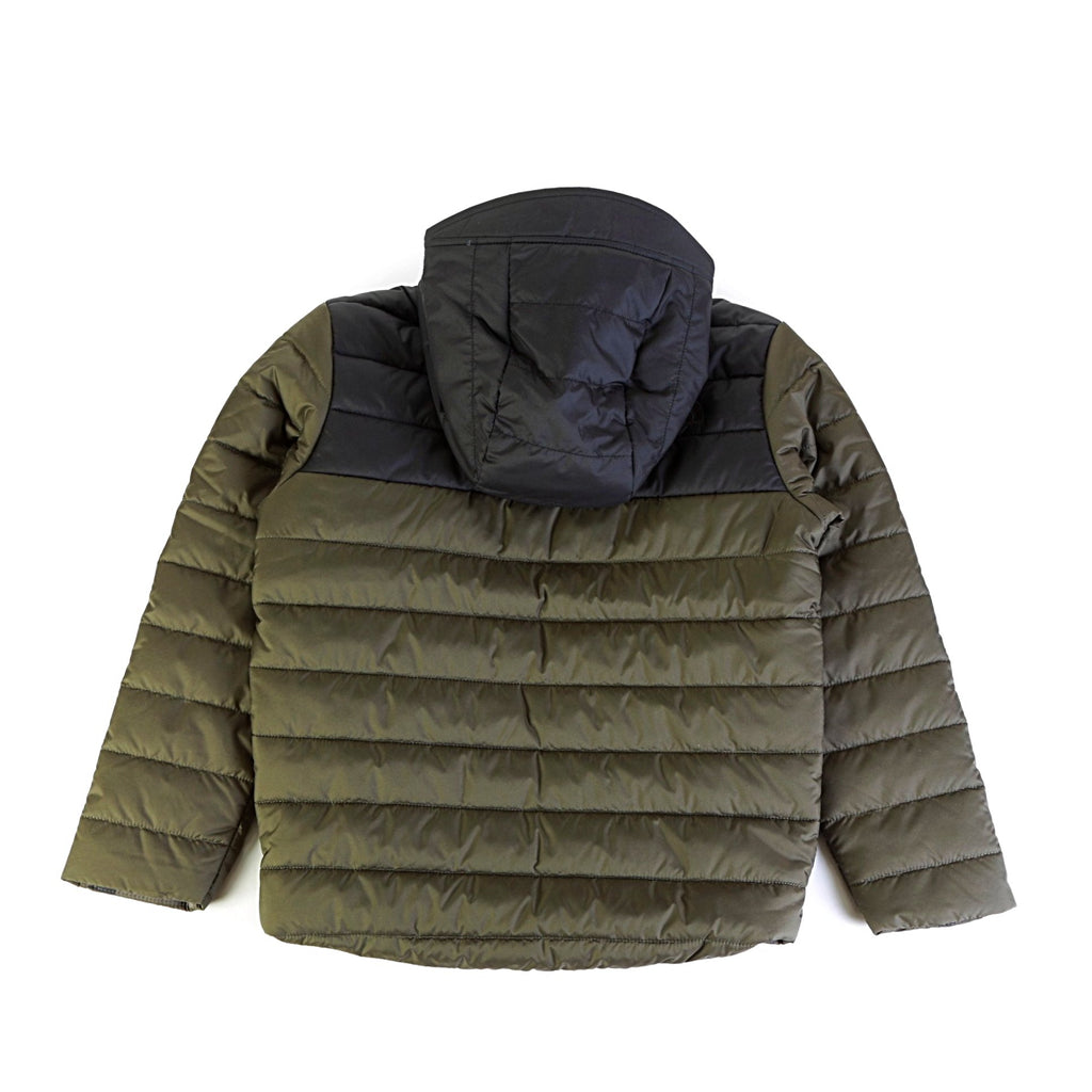 Boys' Reversible Perrito Jacket - New Taupe Green