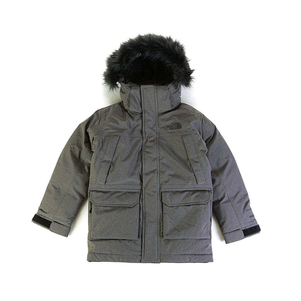 Boys' McMurdo Down Parka - Medium Grey Heather