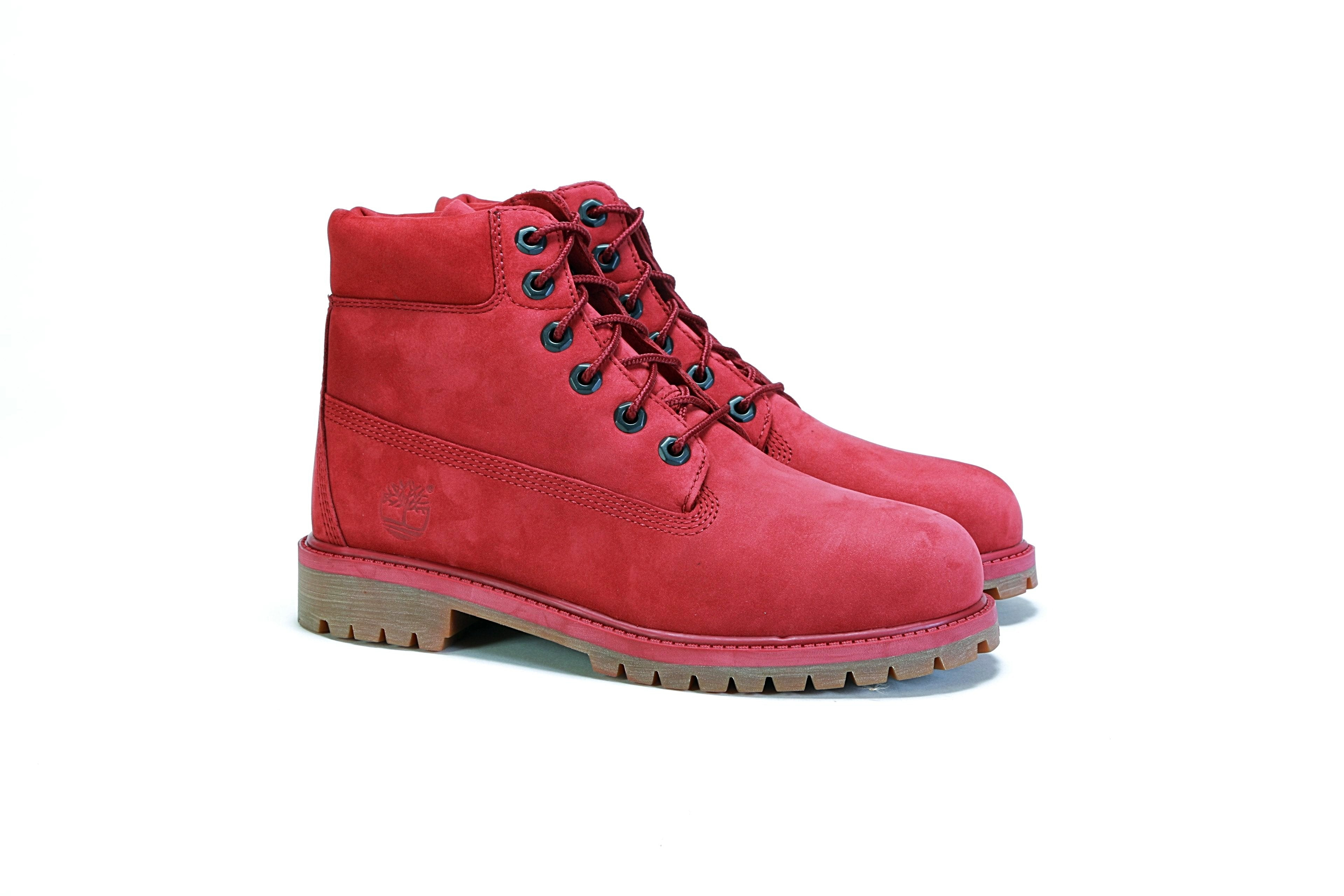 Shop Timberland Womens TB0A1ODE Leather Closed Toe Ankle