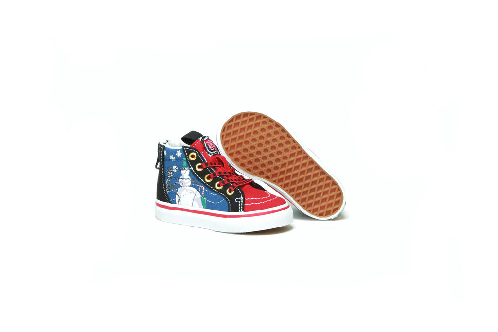 Toddlers Sk8-Hi Zip - (Disney) Christmastown/Nightmare