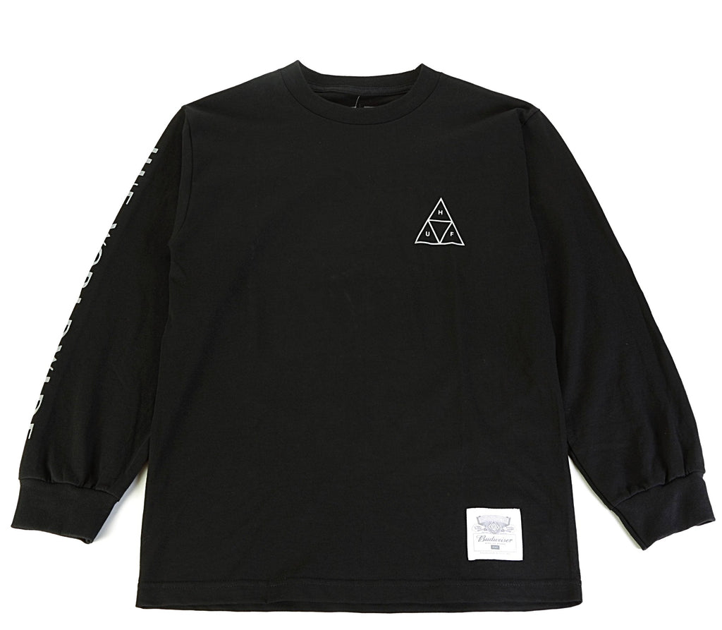 Budweiser Triangle LS Tee - Black