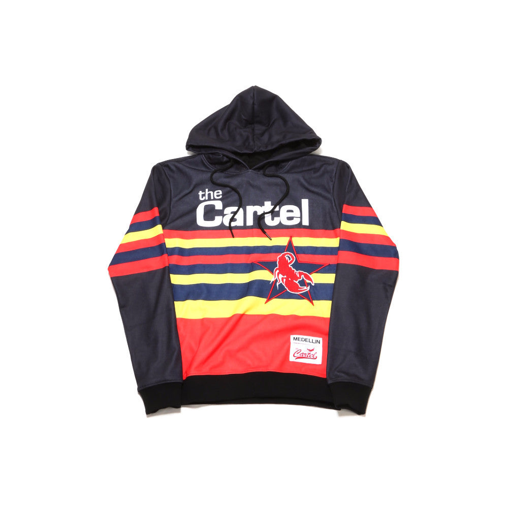 The Cartel Hoody - Black