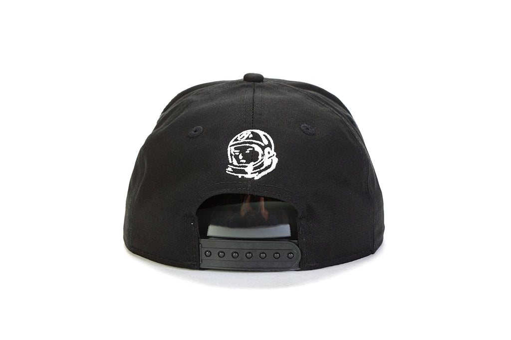 BB Bent Snapback Hat - Black
