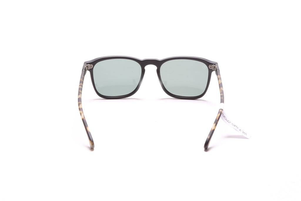 Wiley - Matte Black/Matte Brindle/Green Polarized Lens (54)