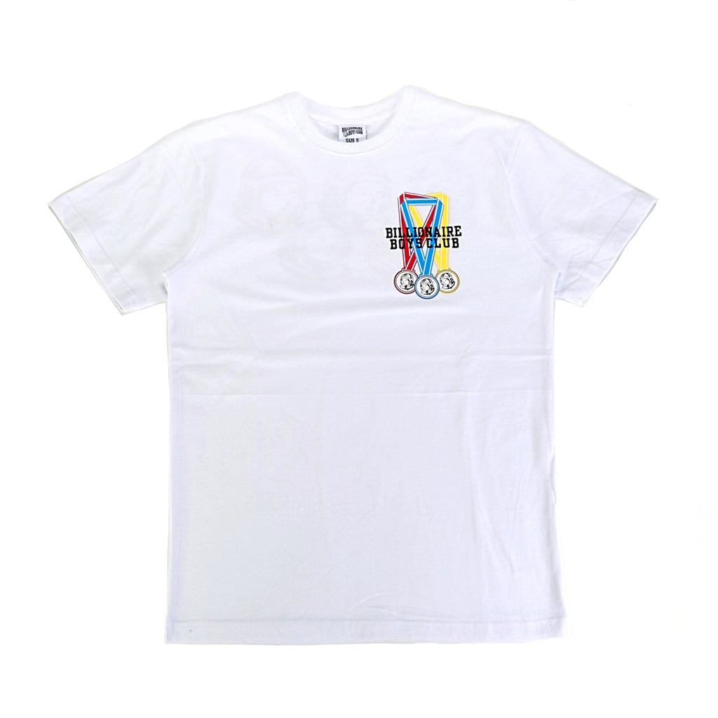 BB Rings SS Tee - White