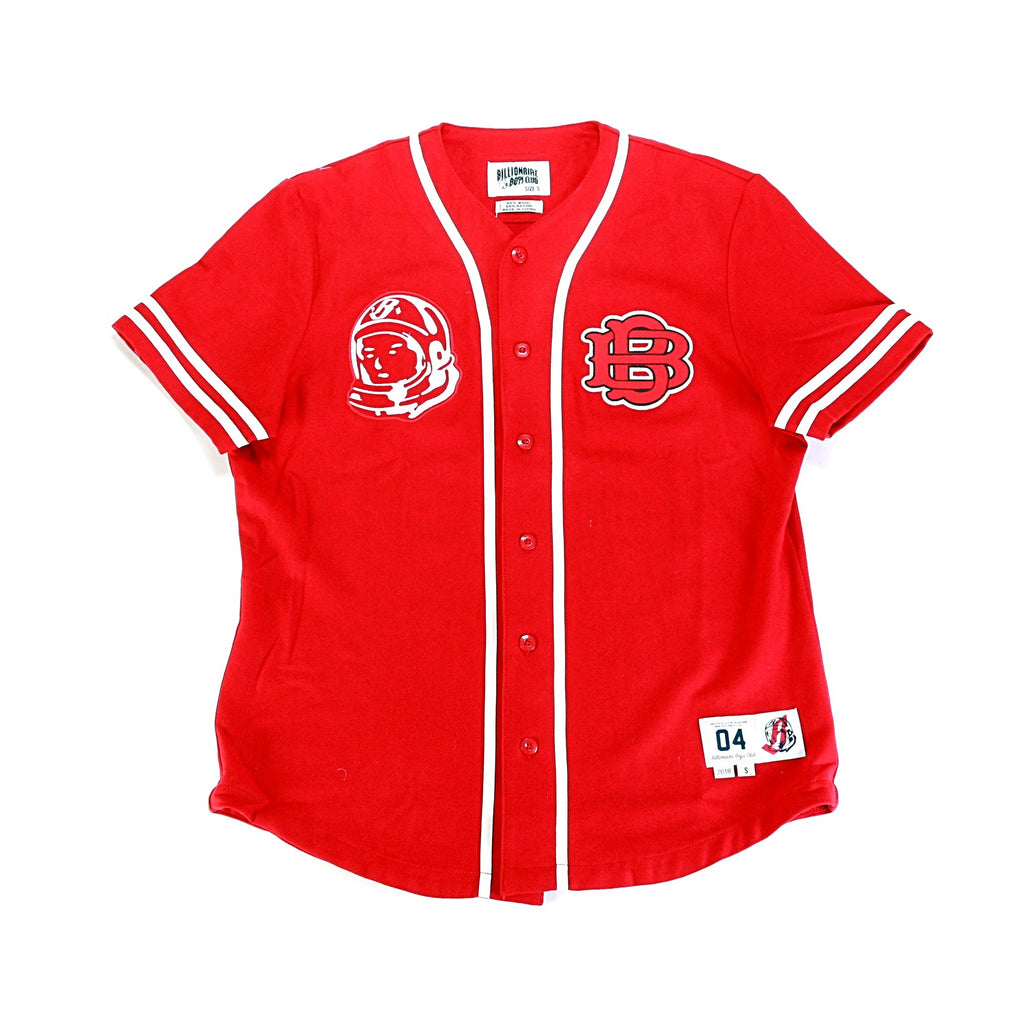 BB Majors SS Jersey - Tango Red