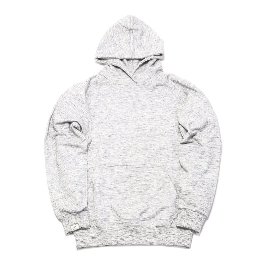 Terry Hoodie Knit - Heather