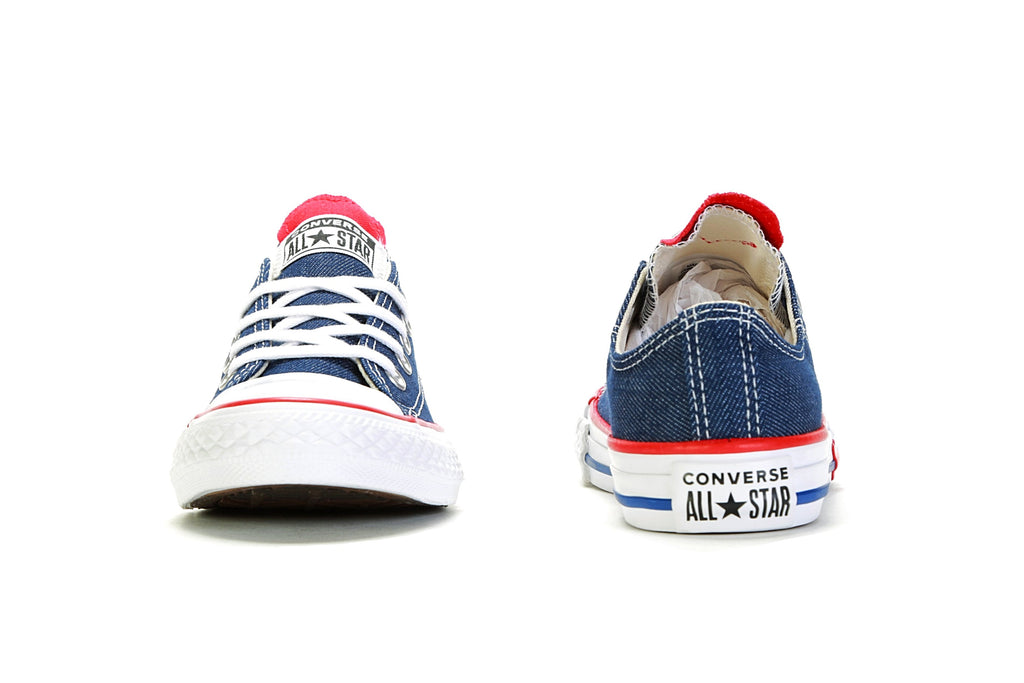 Youth CTAS Ox - (Love) Navy/Enamel Red/Blue