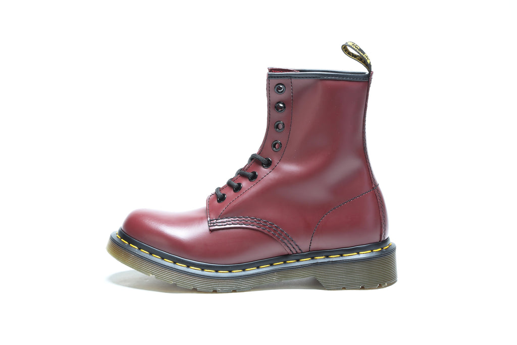 Women's 1460 Smooth - Cherry Red