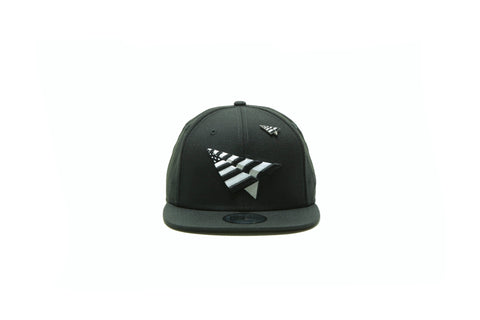 Murphy Curved Bill Jockey Strapback - Black