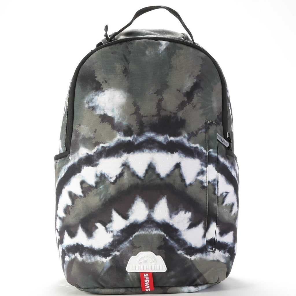 Shark Backpack - Camo Tie Dye