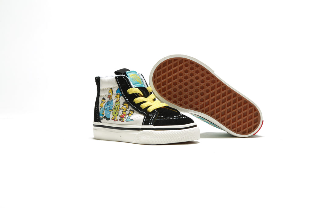 Toddler's Sk8-Hi Zip - (The Simpsons) 1987-2020