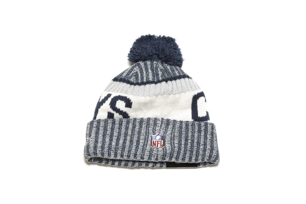 On-Field Sport Knit - (Dallas Cowboys) White/Navy