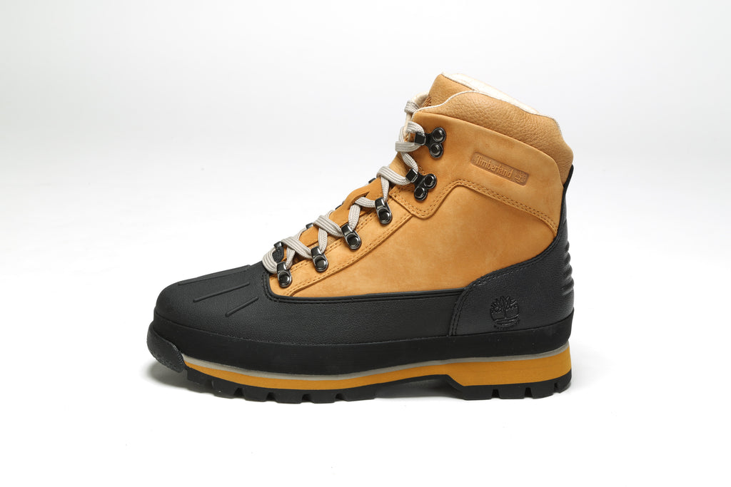 Euro Hiker Shell Toe Boots (M) - Wheat