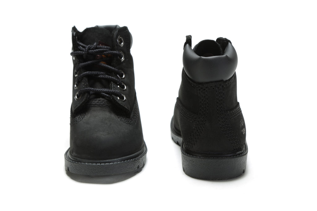 "Toddler's 6"" Classic Boots (M) - Black"