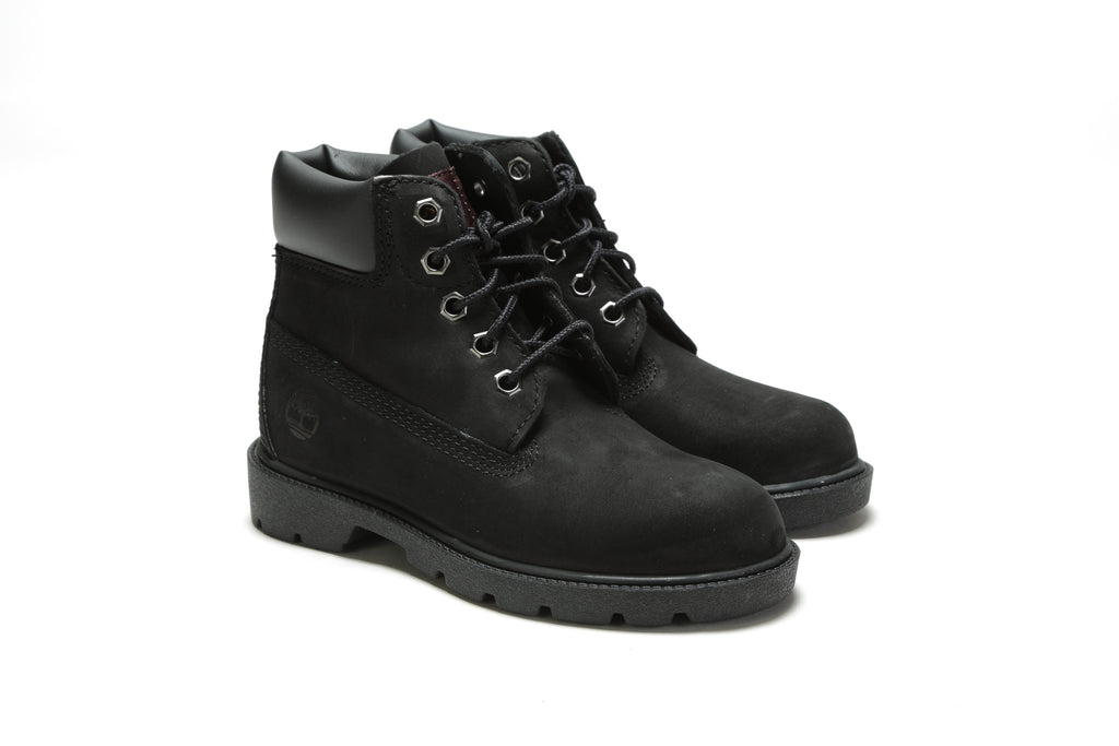 "Youth's 6"" Classic Boots (M) - Black"