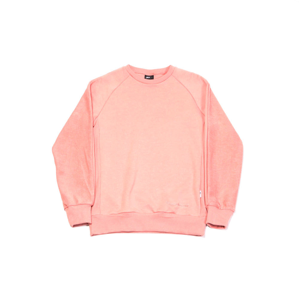 Alford Knit Sweater - Salmon