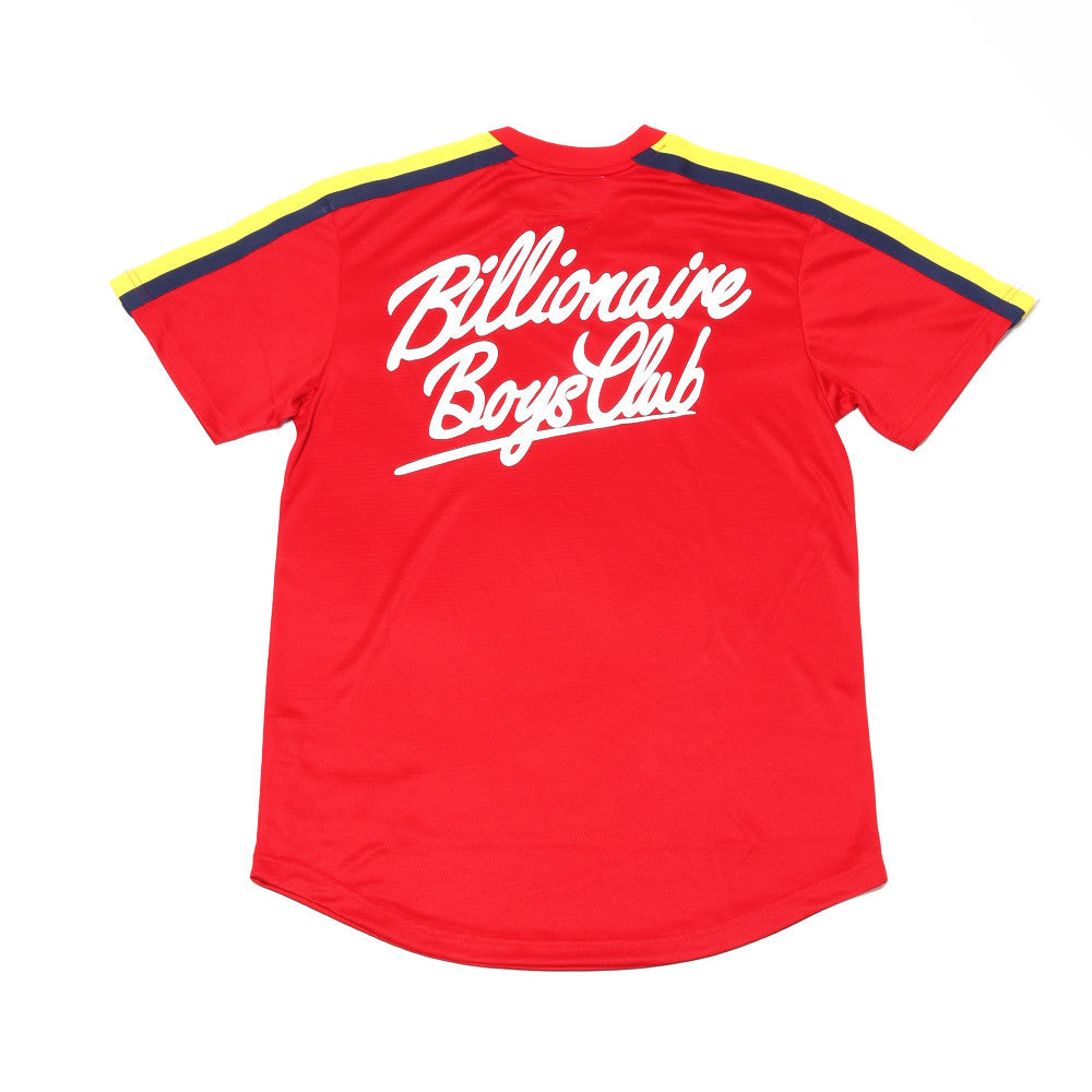 BB Base SS Jersey Knit - Red