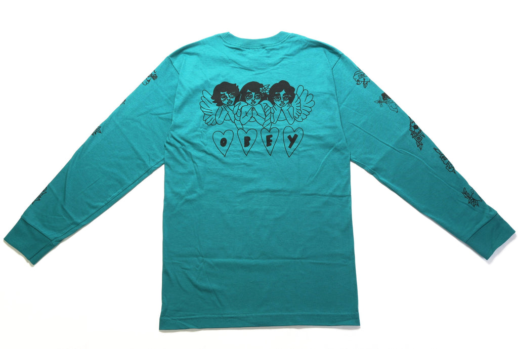 Angels LS Tee - Teal