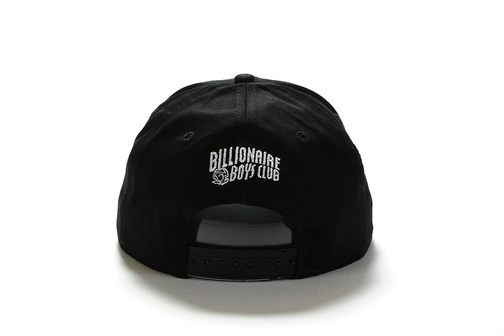 BB Triple Snapback - Black