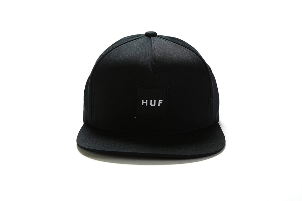 Essentials Box Snapback - Black