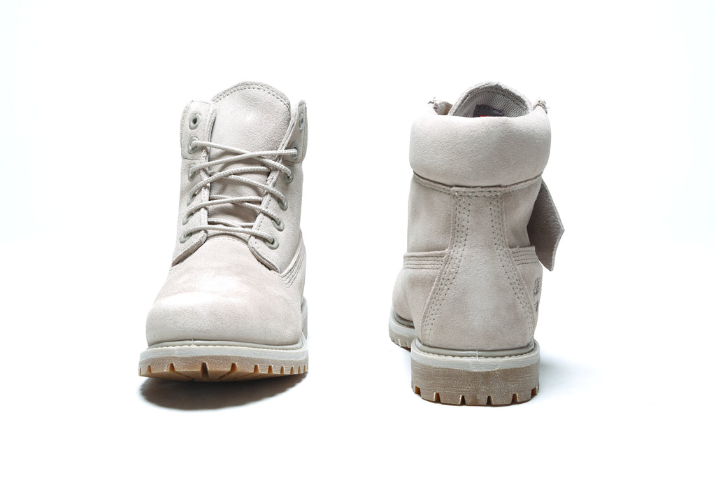 "Women's 6"" Premium Boots (M) - Light Beige/Simple Taupe"