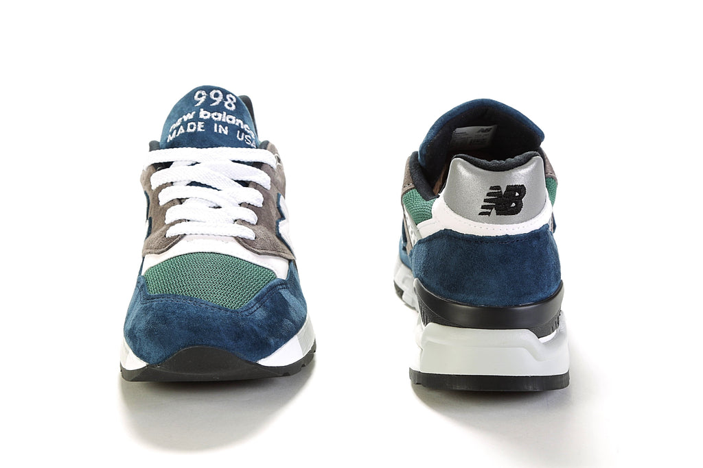 998 Suede (D) - Blue/Green