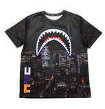 Sharkmouth SS Shirt - Black