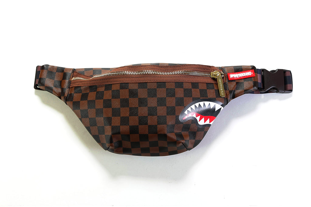 Sharks In Paris Cross Body Pack - Brown – PRIME d1847aa80e107